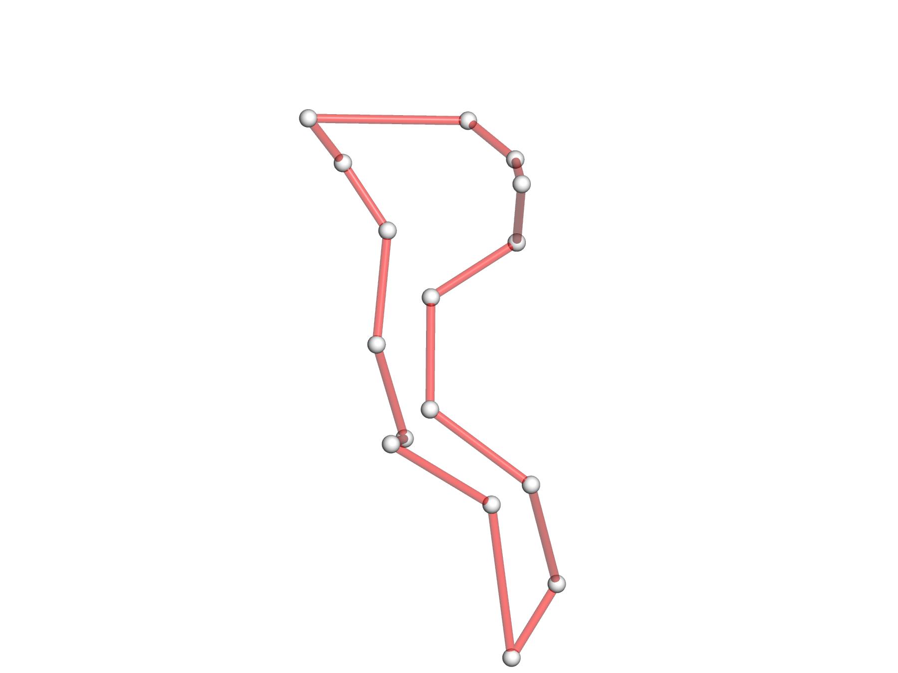"""tRNA 1ehz 4-way junction loop in 3D from PyMOL"" title=""tRNA 1ehz 4-way junction loop in 3D from PyMOL"""